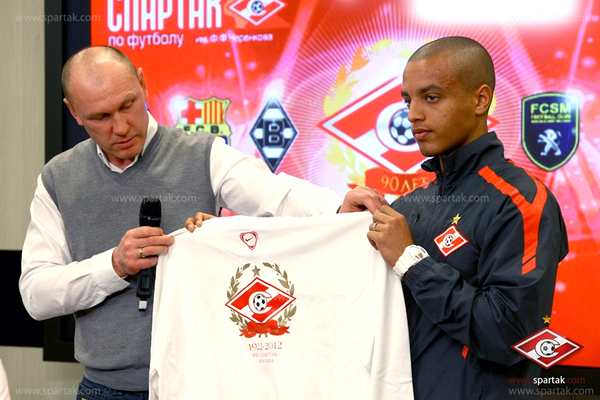 PRESS CONFERENCE DEVOTED TO THE 90TH ANNIVERSARY OF SPARTAK