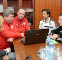 "Chief of Rapid U-17 visited ""Spartak"" Academy"